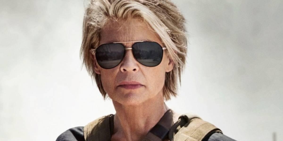 """Revelan la primera imagen oficial de """"Terminator 6"""" con Linda Hamilton como """"Sarah Connor"""""""
