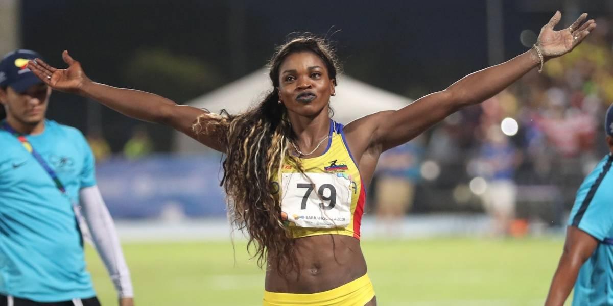 ¡Triple salto dorado! Caterine Ibargüen, nuevamente, ganó oro en Centroamericanos