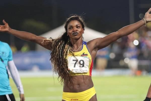 Caterine Ibargüen ganó medalla de oro en salto triple
