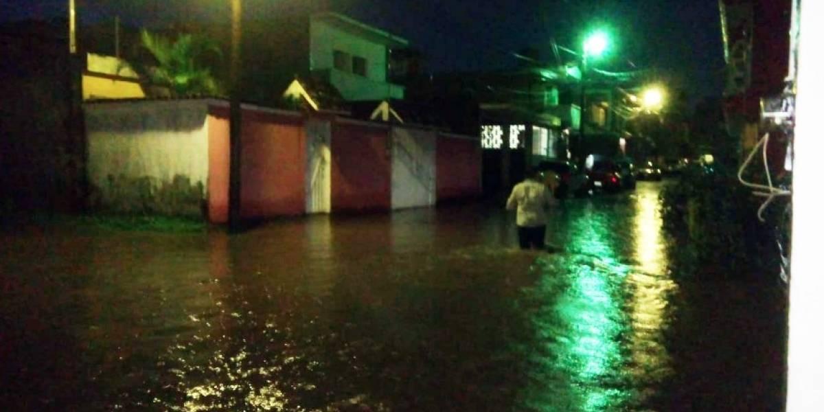 Lluvias provocaron inundaciones en Suchitepéquez