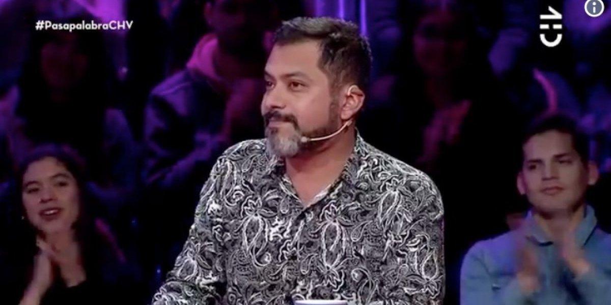 """El emotivo e inesperado gesto de Pedro Ruminot durante su participación en """"Pasapalabra"""""""