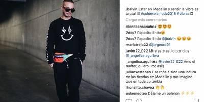 Colombiamoda, J Balvin