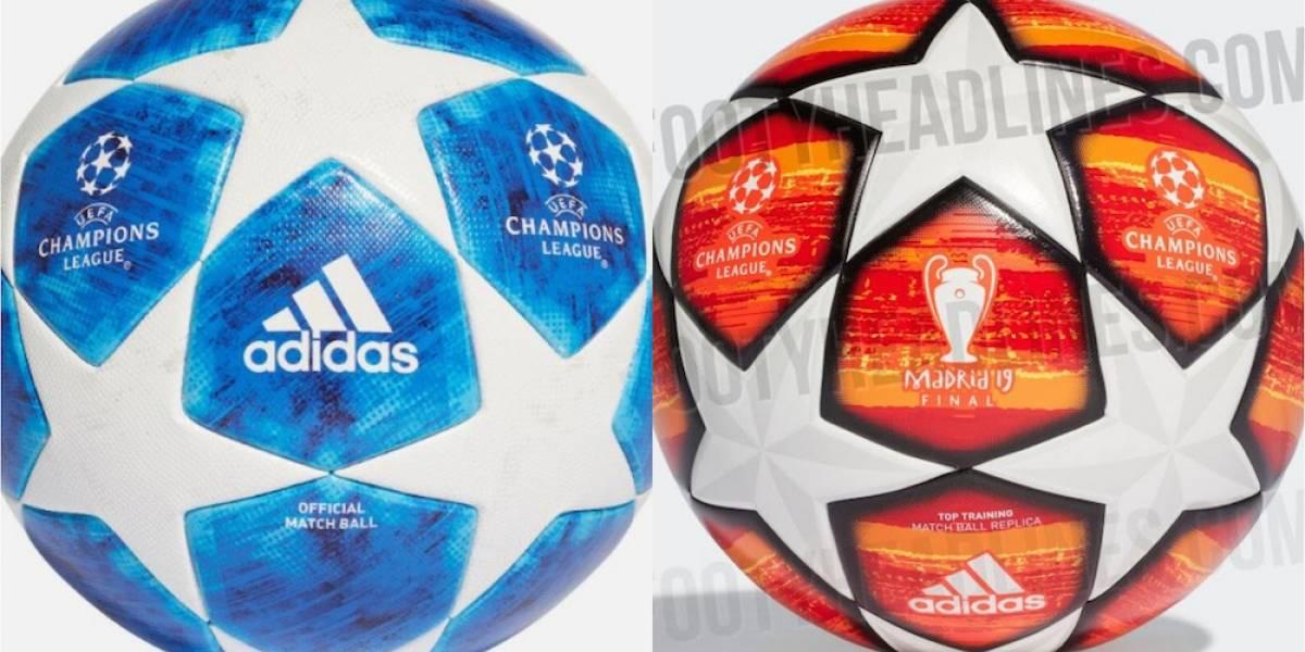 Circulan imágenes de balones que se utilizarán en la Champions League 2018- 19 d8a18a188365e