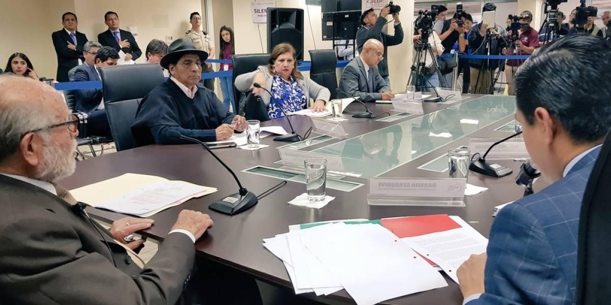 Se ratificó la cesación al Consejo Nacional Electoral