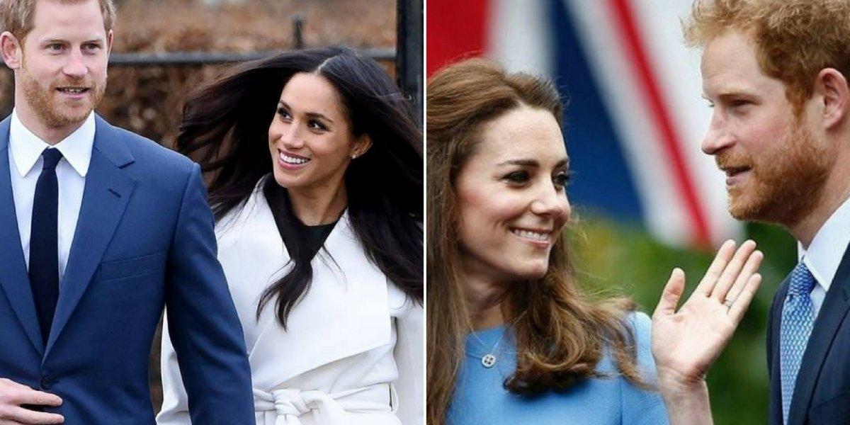 Kate Middleton teve papel importante no relacionamento de príncipe Harry e Meghan Markle