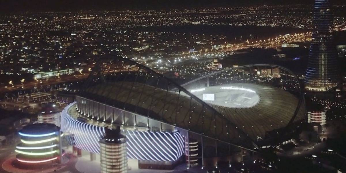 FOTOS: Declaran listo el primer estadio para el Mundial de Qatar