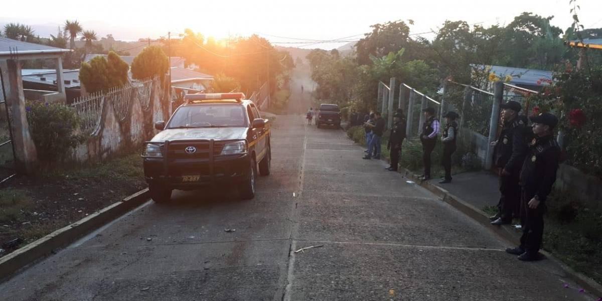 Capturan a agente y exelementos de la PNC señalados de robo