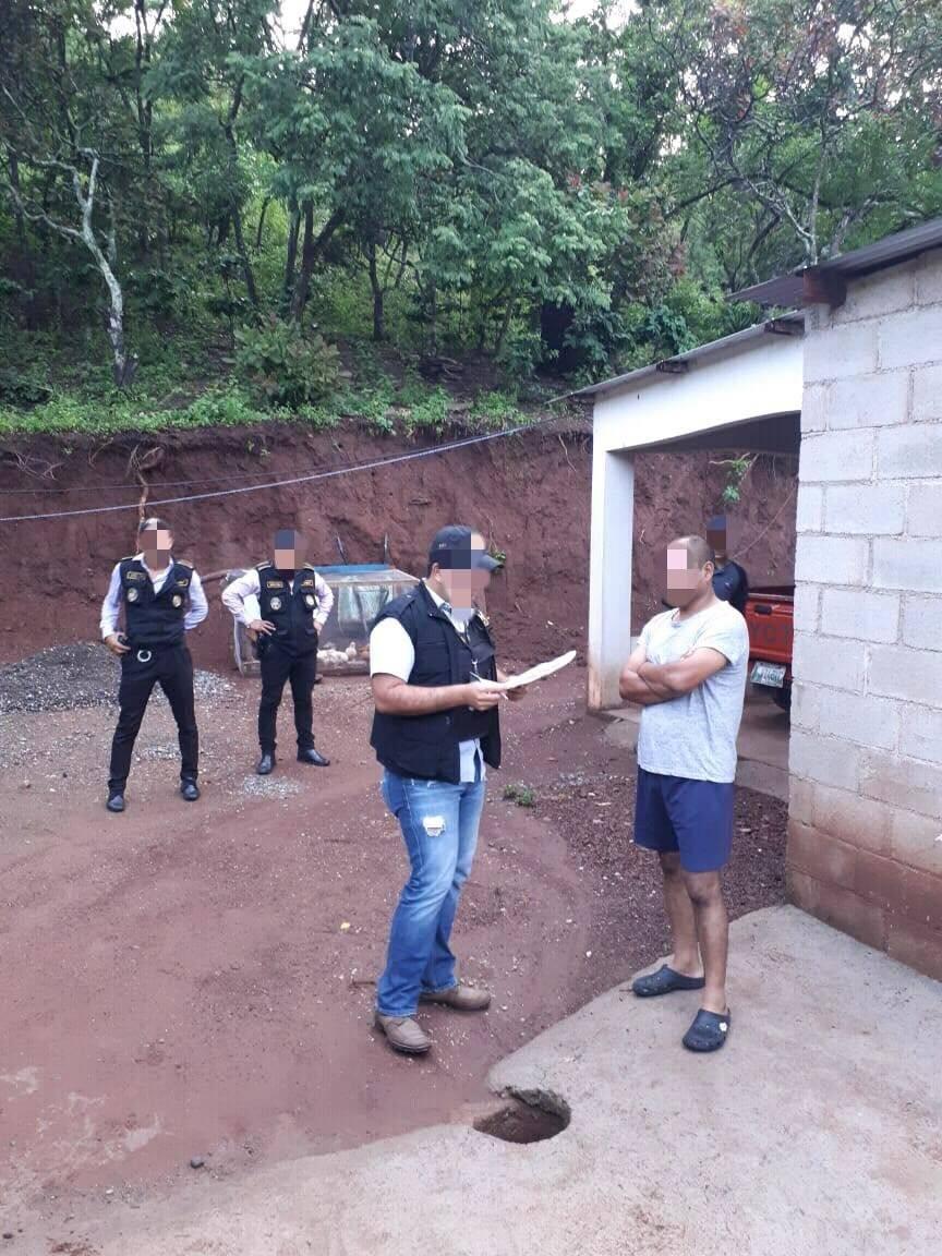 capturan a exagentes de la PNC en Jutiapa por robo