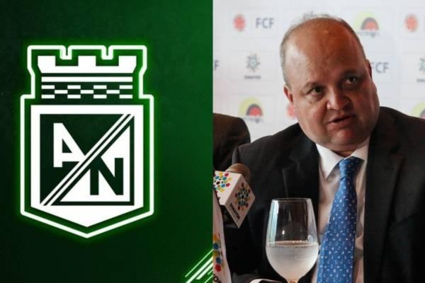 Atlético Nacional felicitó a Jorge Enrique Vélez como presidente Dimayor