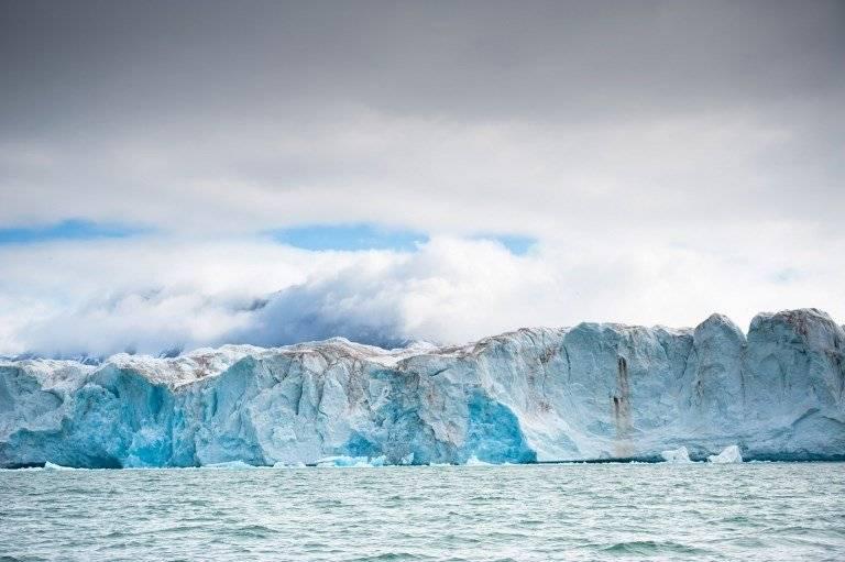 Glaciares en el Ártico