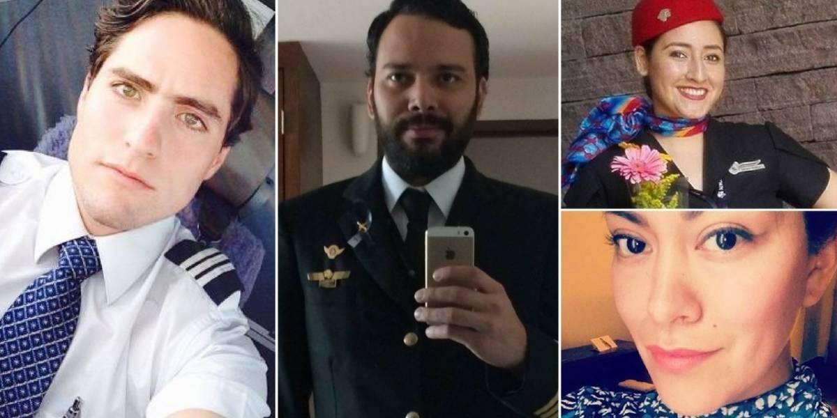 Internautasrinden homenaje a la tripulación delavión accidentado en Durango