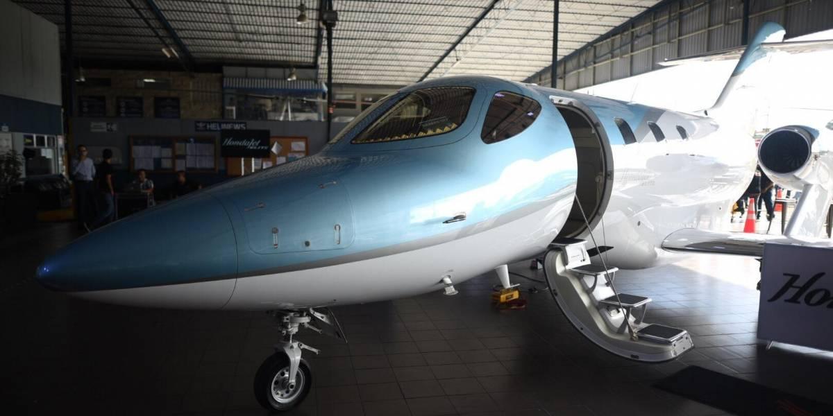 El HondaJet Elite ofrece innovaciones tecnológicas