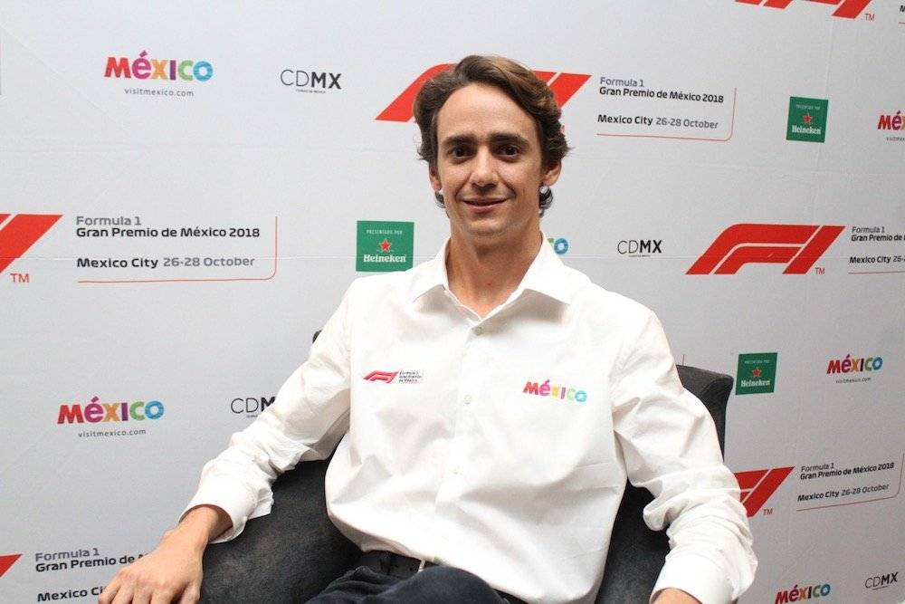 Esteban Gutiérrez apoyará a la organización del GP México 2018 para que vuelva a ser un éxito./ Nicolás Corte/Publimetro