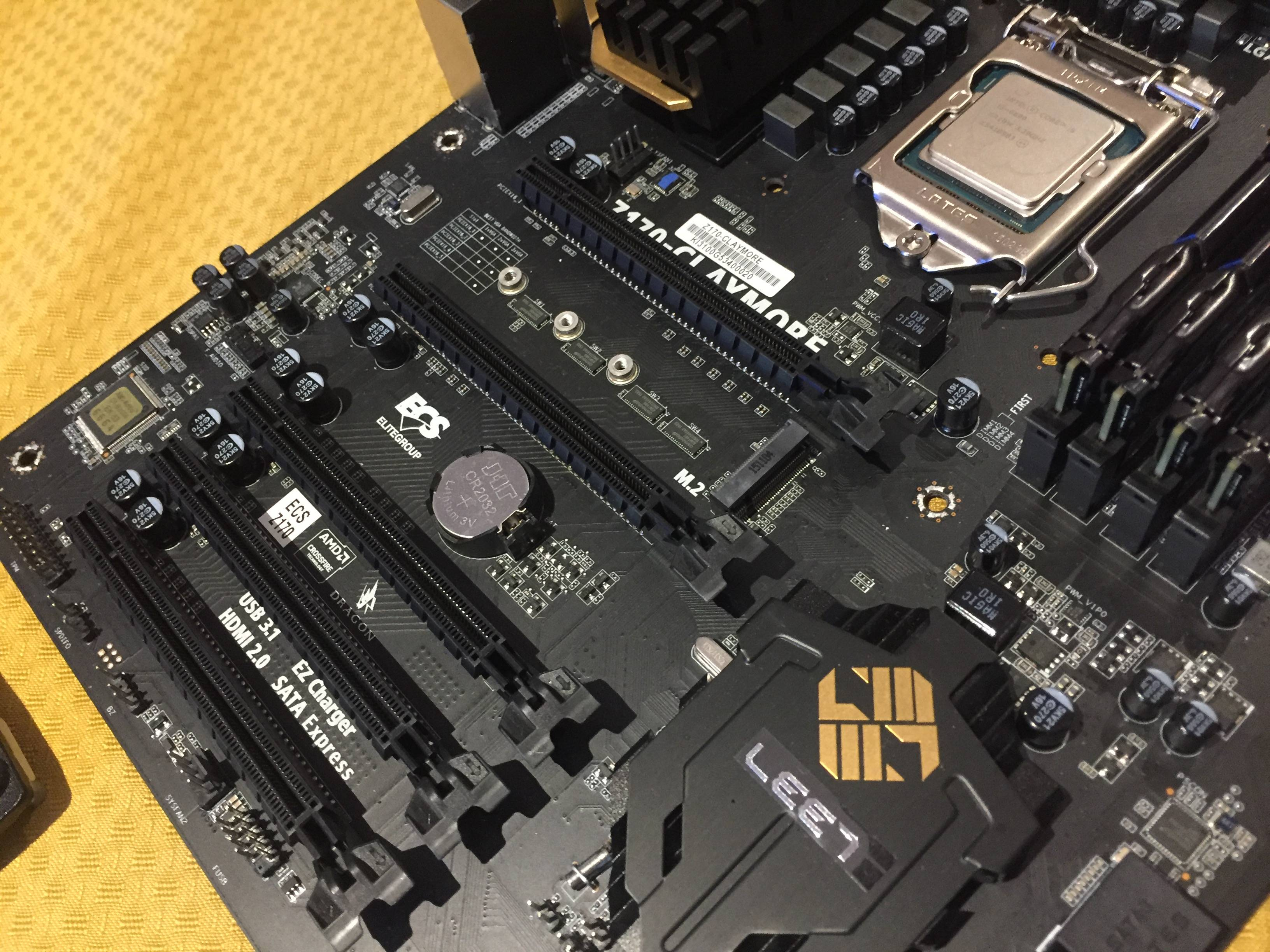 Otros componentes ya estan listos para la actualización