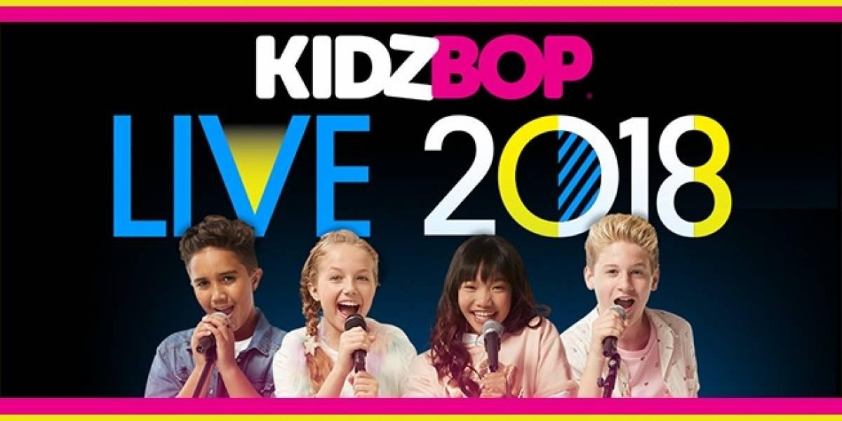 """""""KIDZ BOP Experience"""", dedicado a los infantes; será del Del 20 al 24 de agosto en Hard Rock Hotel"""