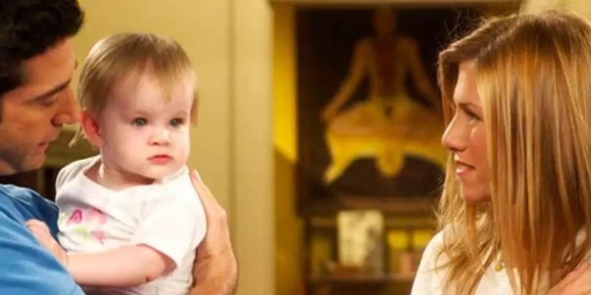 Como está atualmente o bebê de Rachel e Ross na série 'Friends'