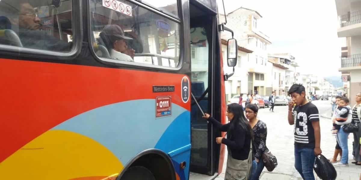 En Cuenca incrementó el costo del pasaje de transporte urbano