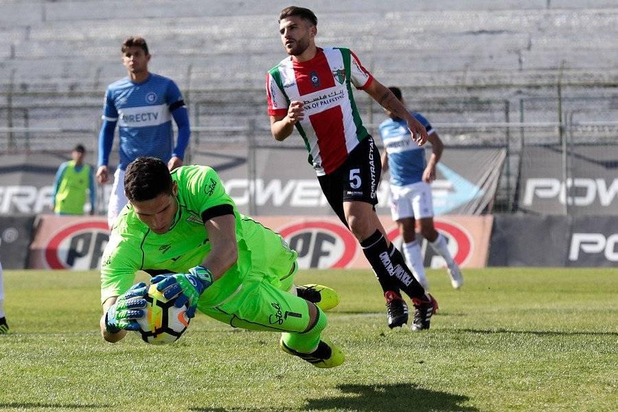 Dituro dijo que los jugadores de la UC siguieron al pie de la letra el plan de Beñat ante Palestino / Foto: Photosport