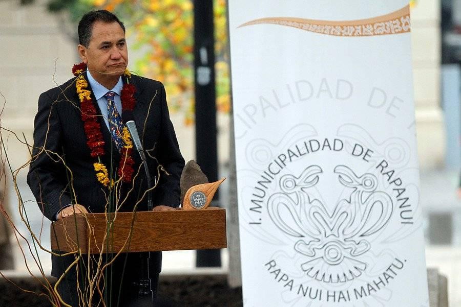 Pedro Edmunds Paoa, alcalde de Rapa Nui