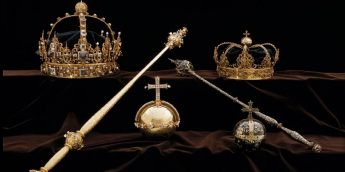 ¡Robo histórico! Ladrones se llevan coronas y joyas de los reyes de Suecia