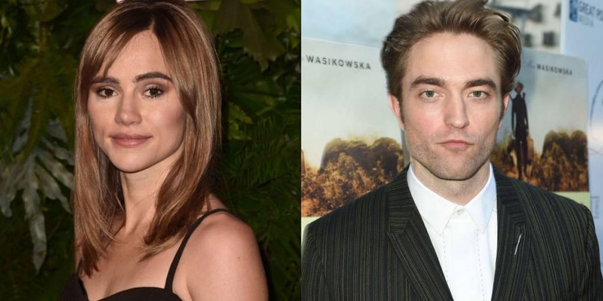 Robert Pattinson é visto aos beijos com ex de Bradley Cooper