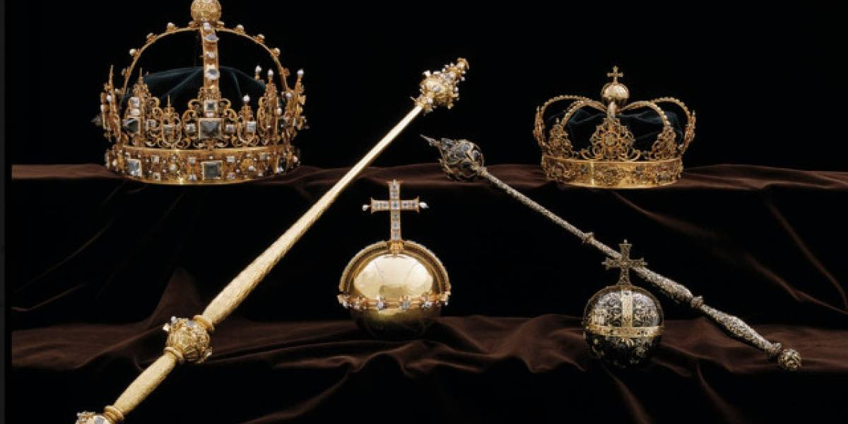 El robo del siglo: Desaparecen coronas y joyas de los reyes de Suecia