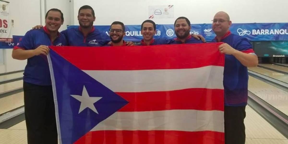 Equipo masculino de bolos suma la décimo sexta medalla oro para Puerto Rico