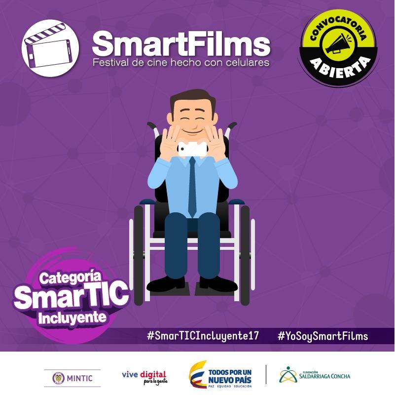 ¡Colombianos a participar en el festival de cine SmartFilms del MinTIC!