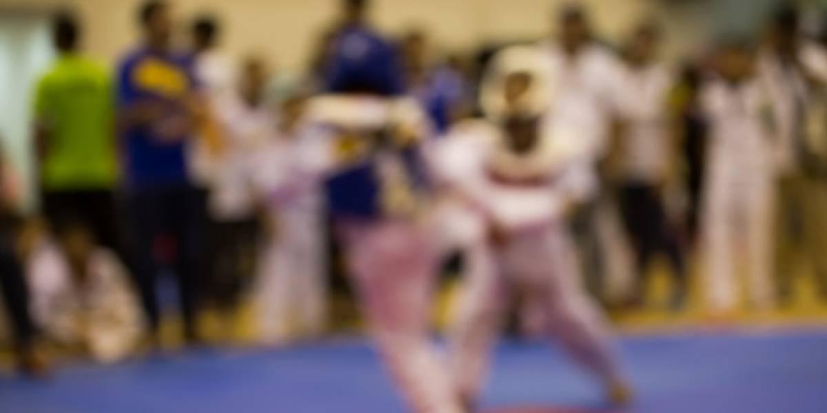Terrible momento en que un joven muere en una pelea de taekwondo