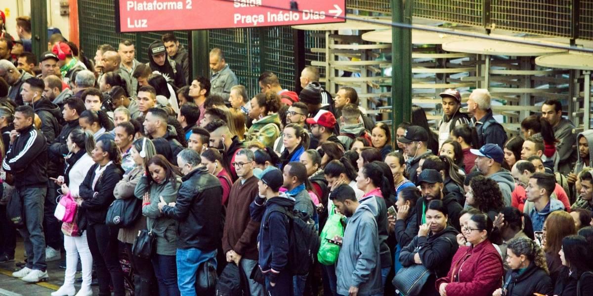 CPTM: Após falha elétrica, Linha 7-Rubi começa dia com problemas