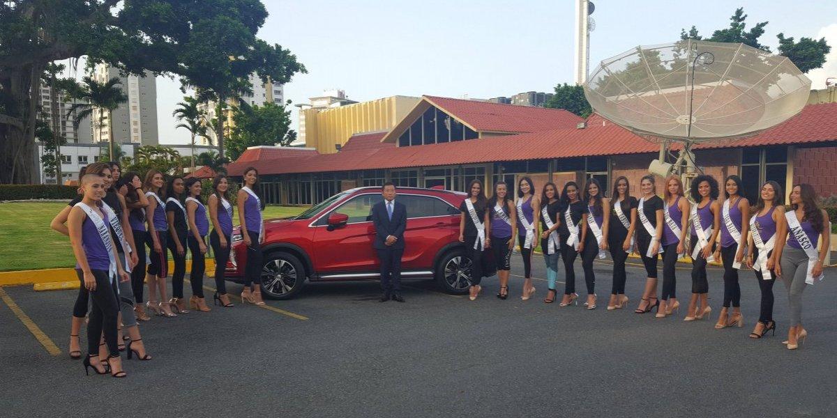 Mitsubishi será la marca oficial de vehículos de Miss Universe Puerto Rico