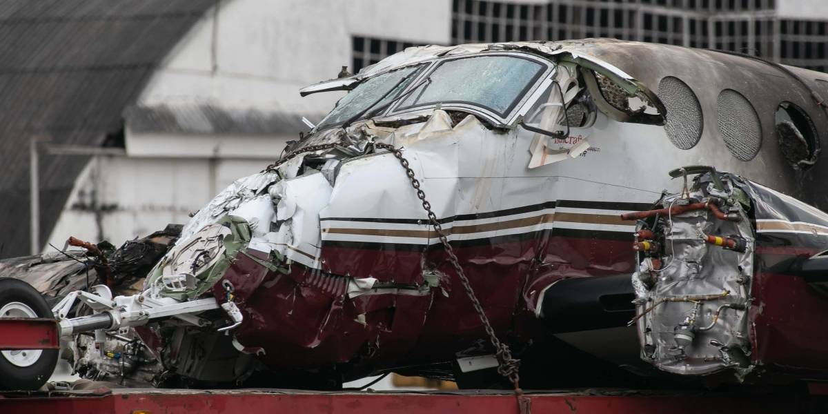 Piloto evitou tragédia maior, diz sobrevivente da queda de avião no Campo de Marte