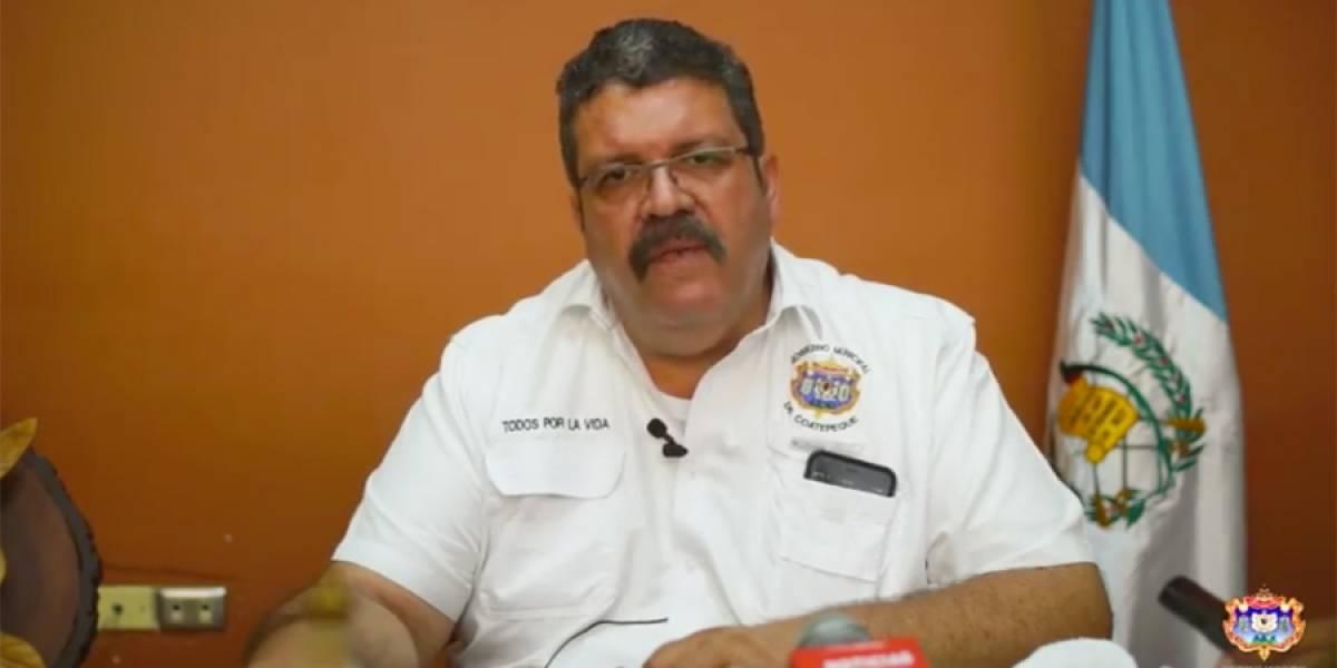 Exigen garantizar la vida del alcalde de Coatepeque quien fue retenido esta noche