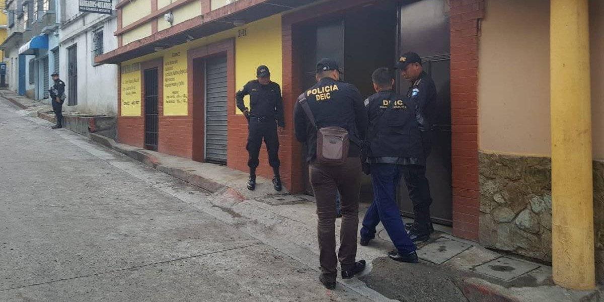 Buscan capturar a extrabajadores y empleados de la comuna de Santiago Sacatepéquez