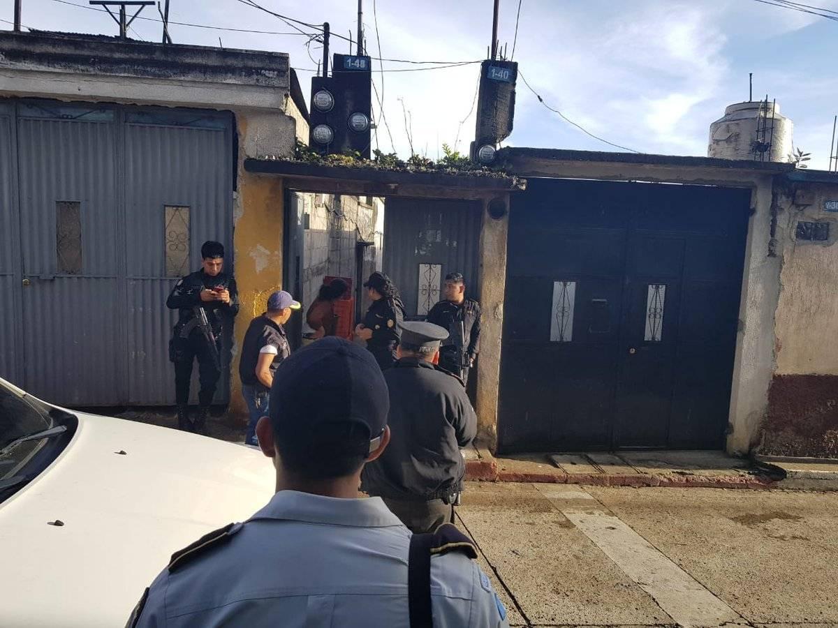 allanamientos en Santiago Sacatepéquez