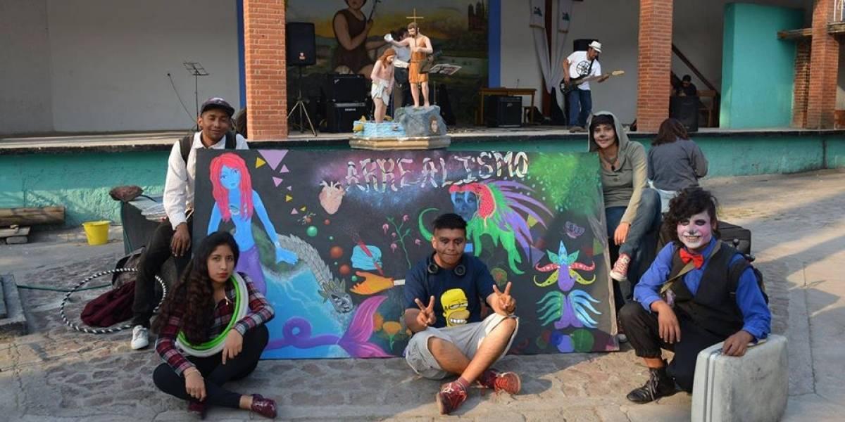 'Arrealismo', colectivo que combate la violencia con arte en Chimalhuacán