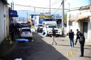 Ataque armado avenida Bolívar
