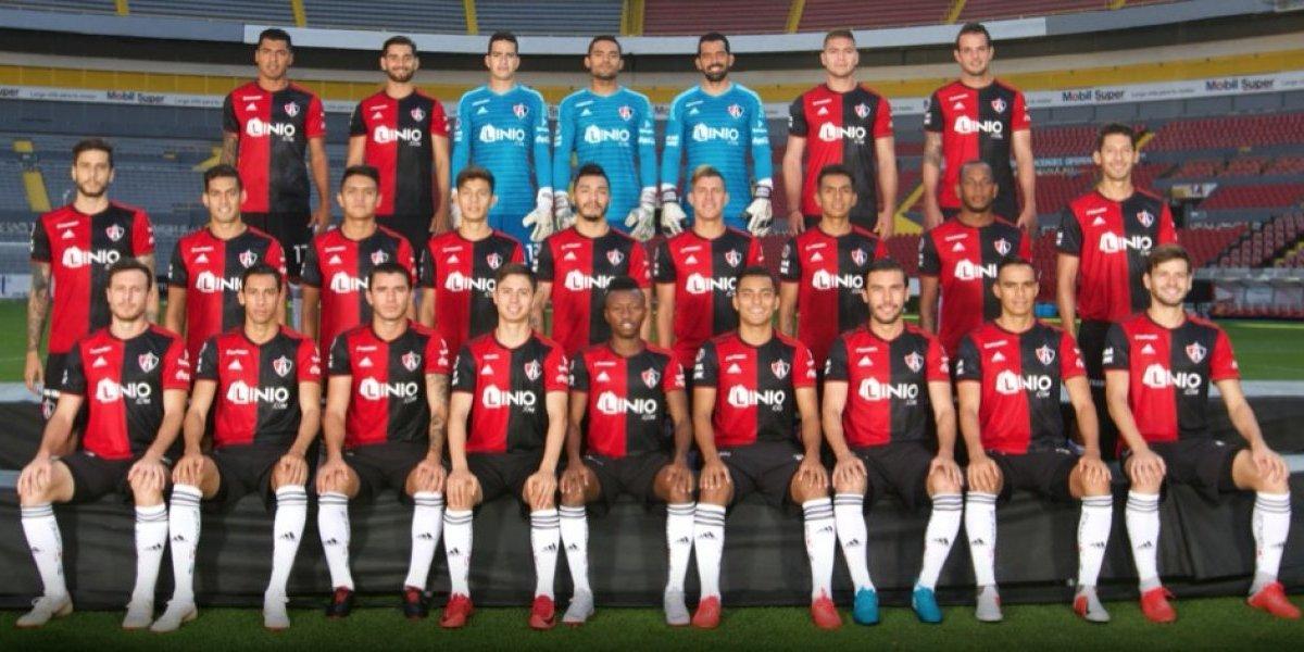 Atlas se tomó la fotografía oficial del Apertura 2018