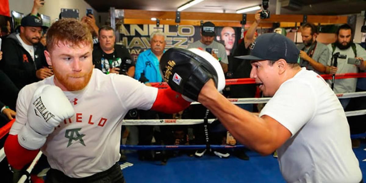 Canelo Álvarez se mantiene limpio para su pelea contra Golovkin