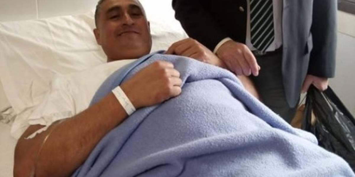 Notable gesto de un médico: Operó gratis a un bombero