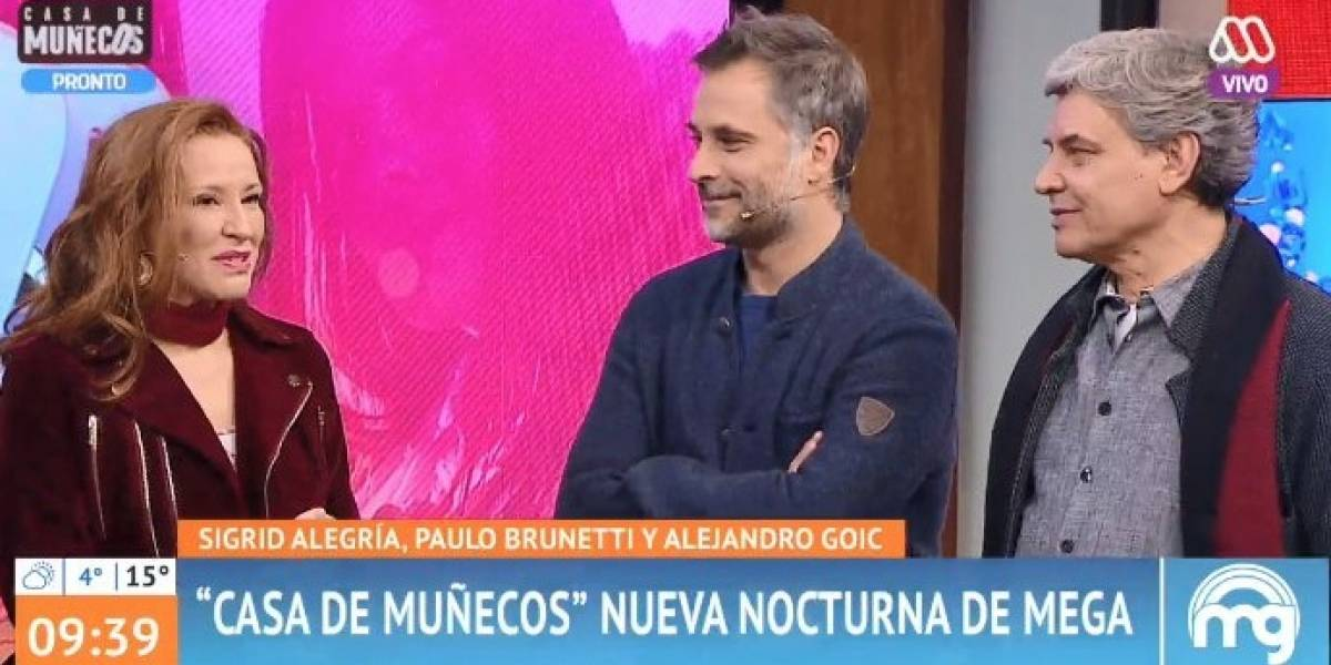 "Alejandro Goic se retira de ""Mucho gusto"" cuando llegó Patricia Maldonado al set"