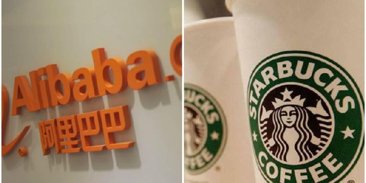 Alianza une a Alibaba y Starbucks en delivery de café