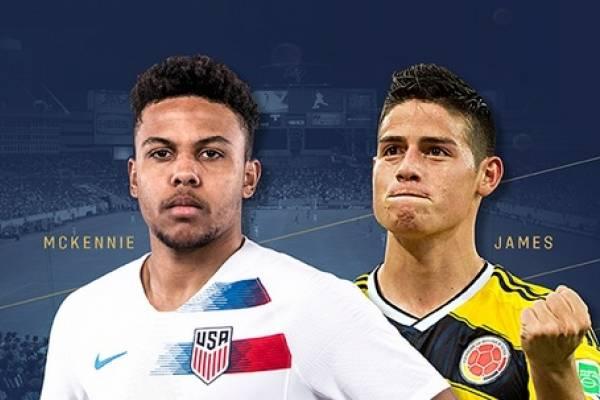 Amistoso entre Estados Unidos y Colombia