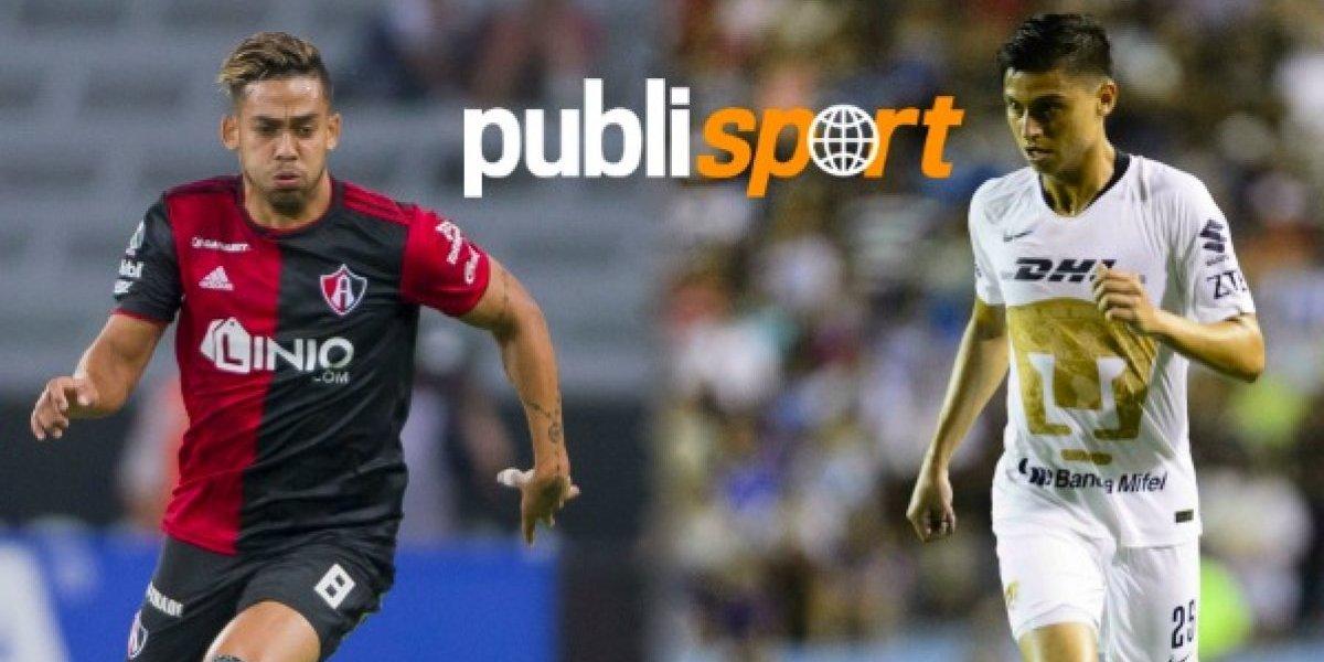 Atlas vs Pumas ¿Dónde y a qué hora ver el partido?