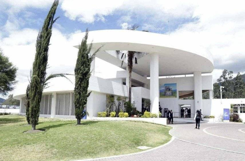 Exteriores de la Secretaría Nacional de Inteligencia (Senain)