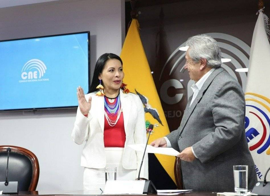 CPC posesiona a vocales del CNE y al superintendente de Bancos