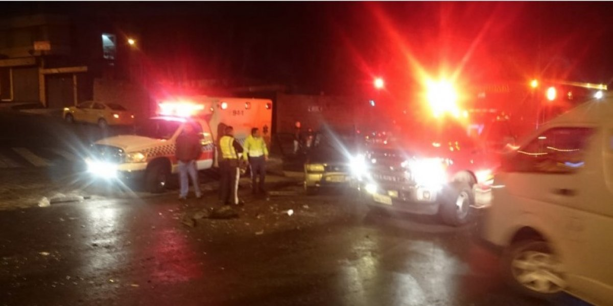 Quito: Se registraron dos accidentes de tránsito esta madrugada