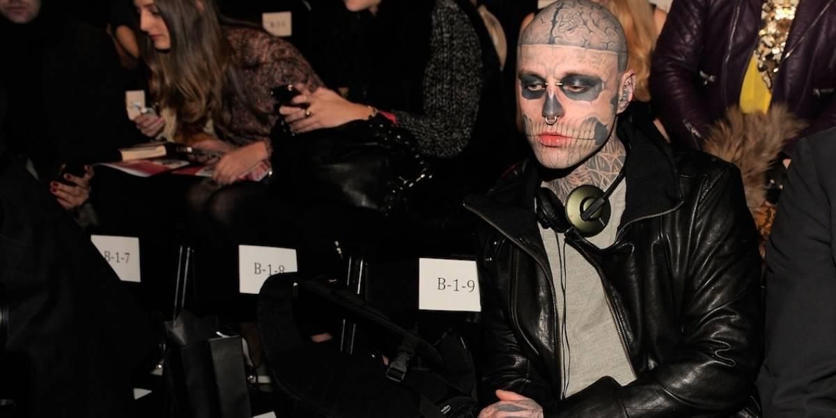 """Modelo y artista """"Zombie boy"""" es encontrado muerto"""