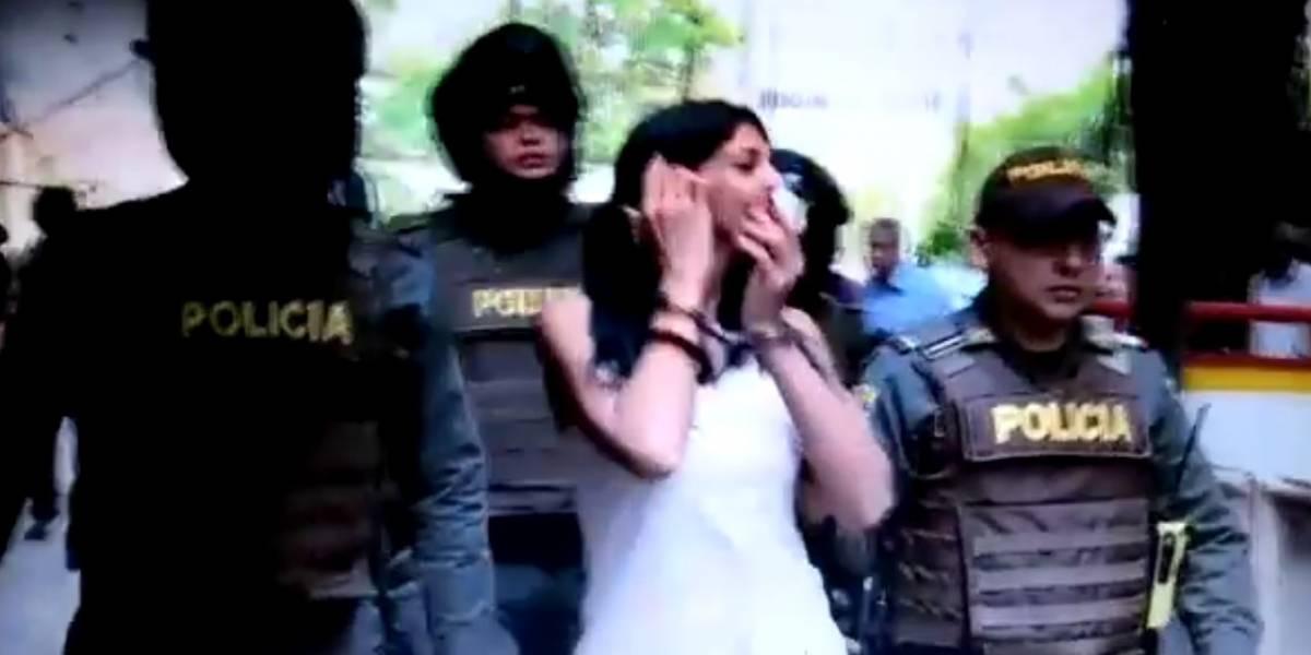 La grosería de 'La Madame' a periodistas cuando llega al complejo judicial
