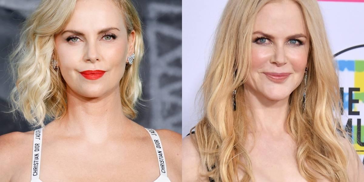 Charlize Theron y Nicole Kidman protagonizarán una película de un caso de acoso sexual